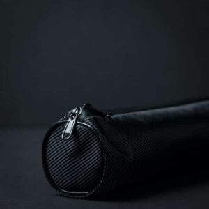 Battery bag with black background