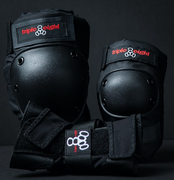 Protective gear for knees, wrists and elbows