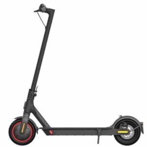 Electric scooter with white background