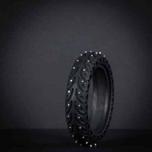 Honeycomb winter tire